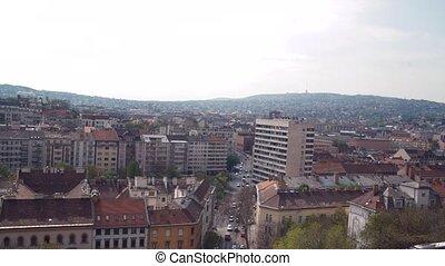 ville, budapest, vue