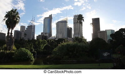 ville, central, business, district., horizon, sydney, australia.