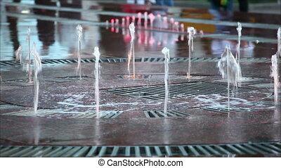 ville, fontaine