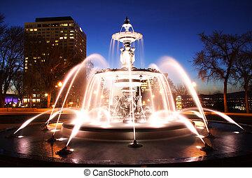 ville, fontaine, québec