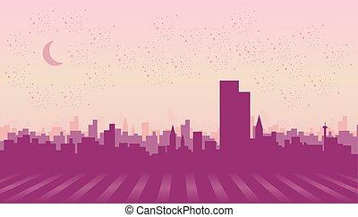 ville, illustration