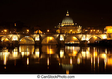 ville, italie, rome, vatican