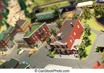 ville, miniature
