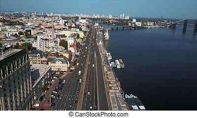 ville, rivière