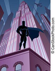ville, superhero