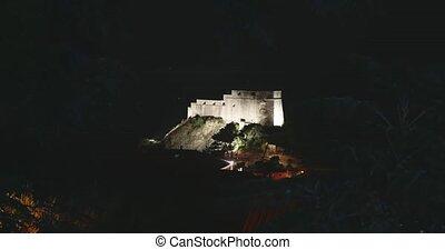 ville, vieux, dubrovnik, -, lovrijenac, forteresse