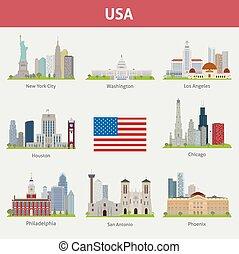 villes, nous