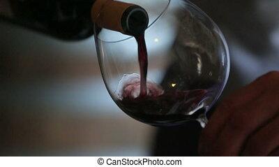 vin versant, sommelier, verre