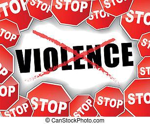 violence, arrêt