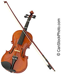 violon, coupure