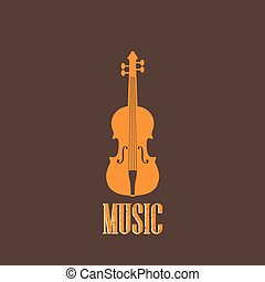violon, illustration