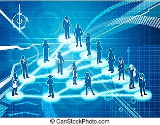 viral, concept, commercialisation, business