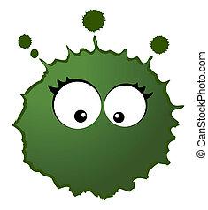 virus, vecteur, germes