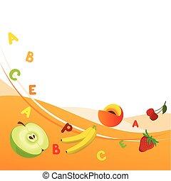 vitamines, frais