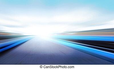 vitesse, route