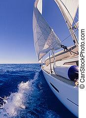 voile, mer, bateau