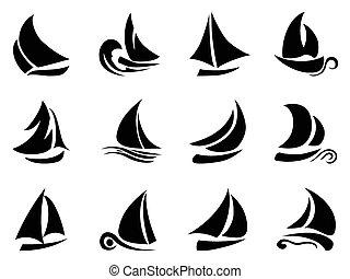 voilier, symbole