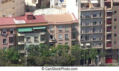 voisinage résidentiel, appartements