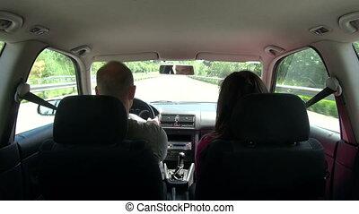 voiture, 30, jeûne, intérieur, conduite