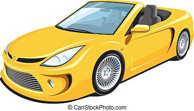 voiture, cabriolet
