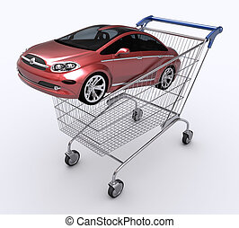 voiture, cadeau