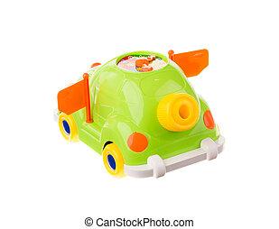 voiture, jouet, coloré