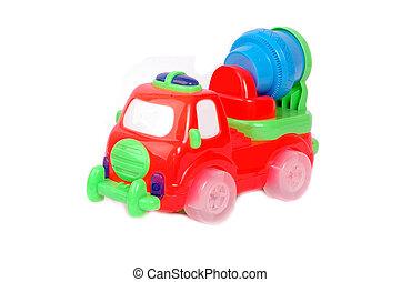 voiture, jouet, plastique