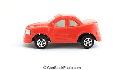 voiture jouet, rouges