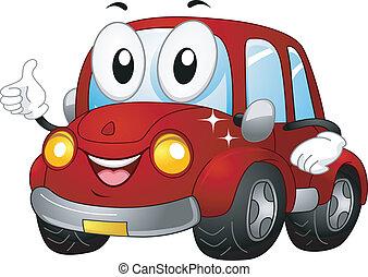 voiture, mascotte