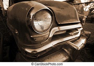 voiture, retro