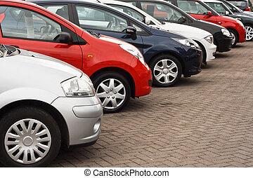 voiture, utilisé, ventes