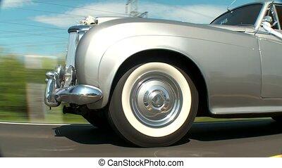 voiture, vieux, mariage