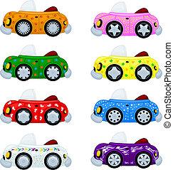 voitures, dessin animé
