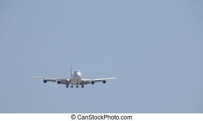 vol, avion commercial, jet