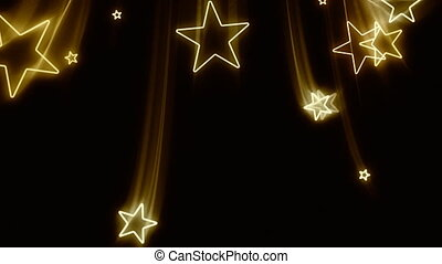 voler, étoiles, or, dehors