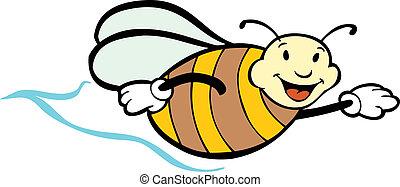 voler, abeille