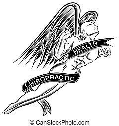 voler, ange, chiropraxie