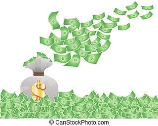 voler argent