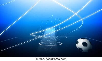 voler, boule football