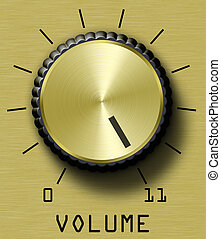volume, or, contrôle