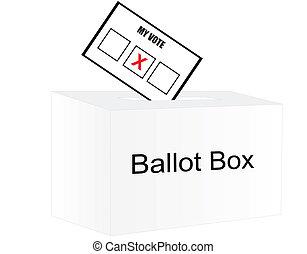 vote, élection, day...