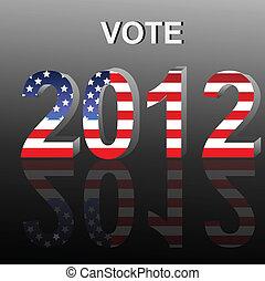 vote, 2012
