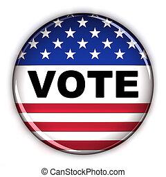vote, bouton