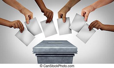 vote, communauté
