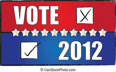 vote, fond, 2012