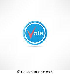 vote, icône
