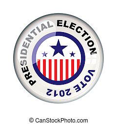 vote, présidentiel, 2012