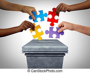 vote, puzzle