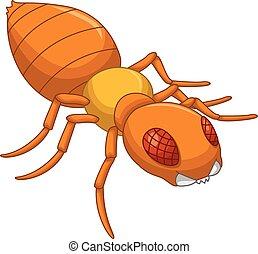 vous, conception, termite, dessin animé