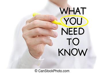 vous, quel, besoin, savoir